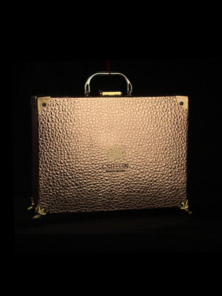 Micah Bracelet Pouch / Wallet Brown