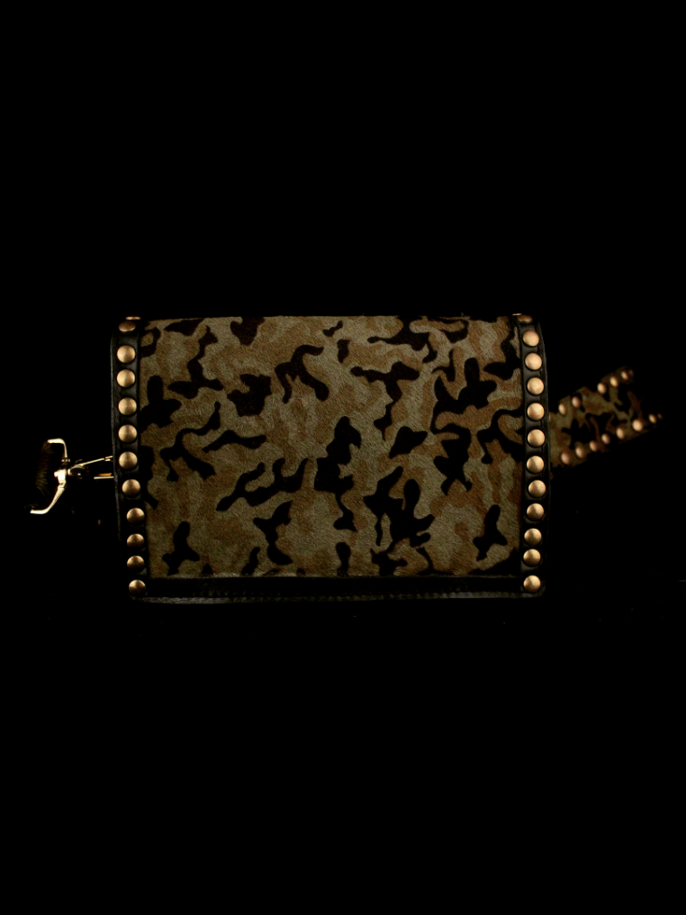 ROCK STUD BAG IN CAMOUFLAGE