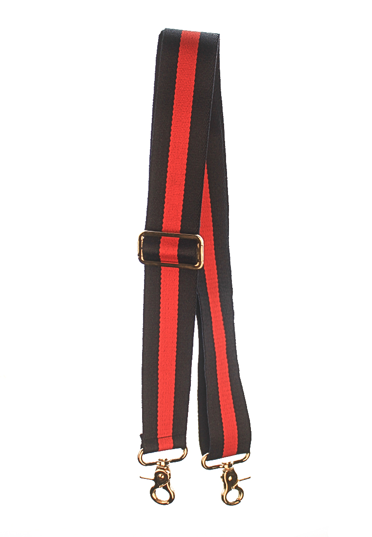 Duo Color Navy Blue and Red Nylon Strap