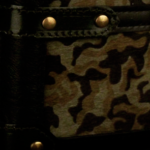 Camouflage Dark Green mix Black