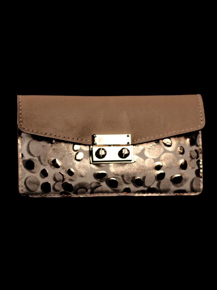 Secret Code Long Wallet Blue Epi – Polka Dots Wallet