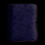 Blue Pony Hair Wallet