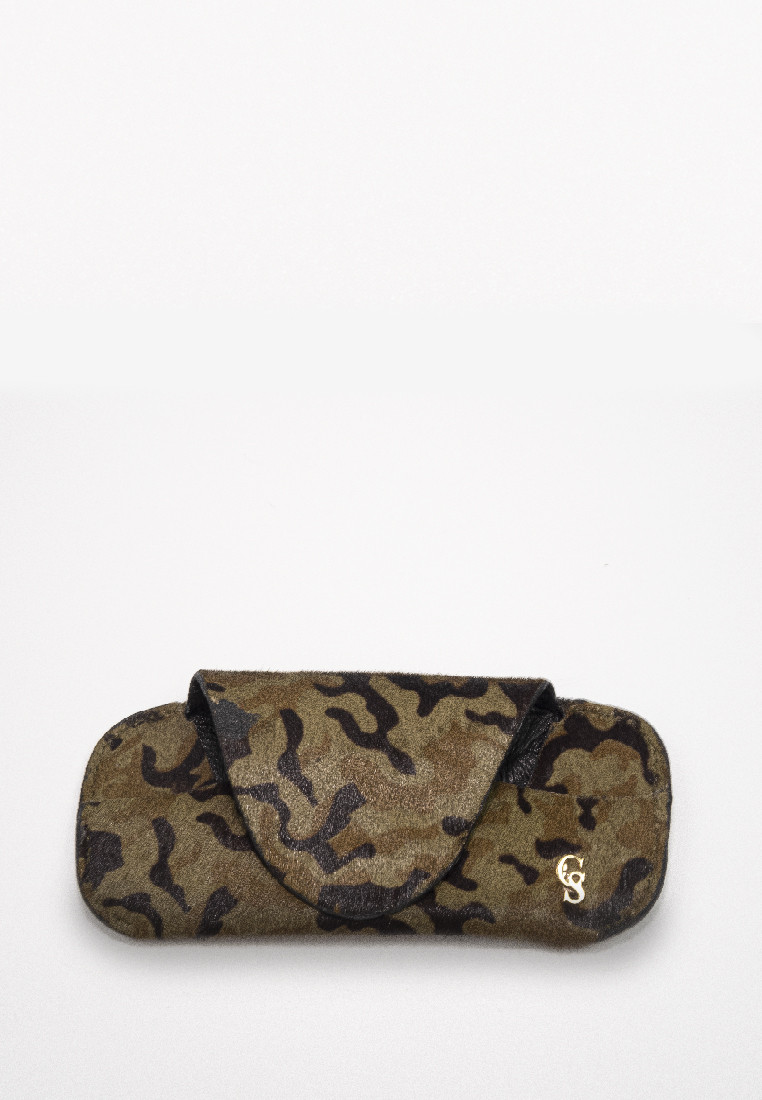 Eyewear Minimal Pouch Camouflage Pony Hair