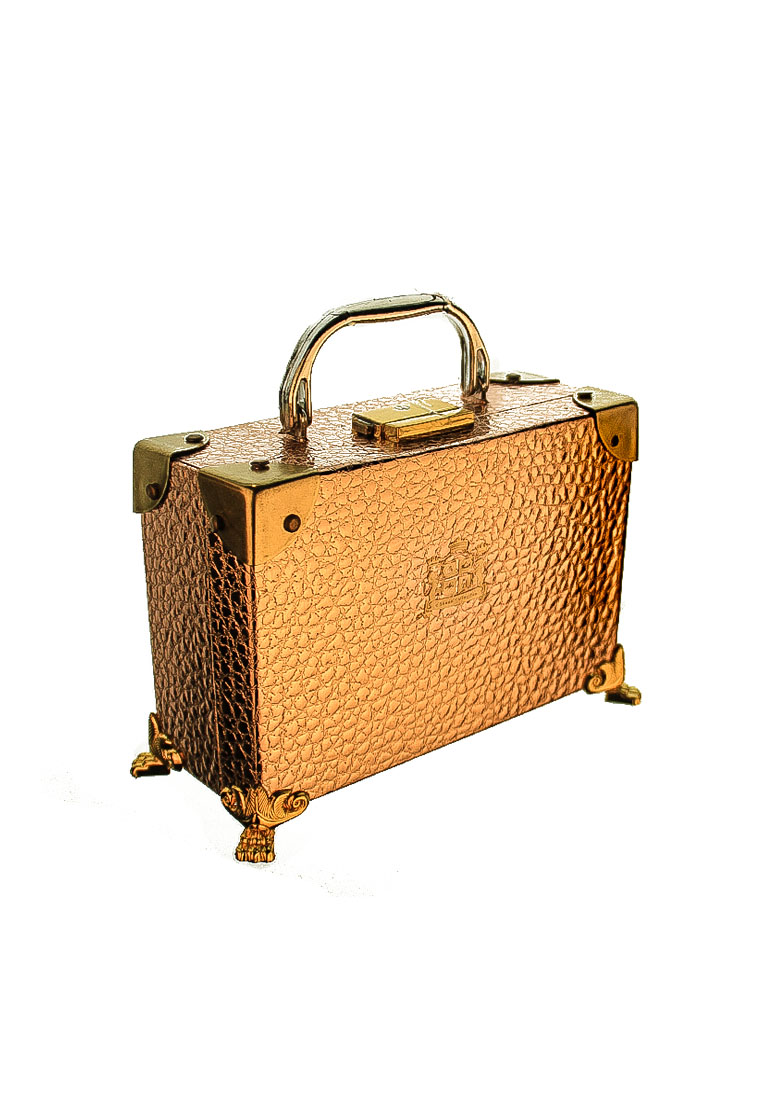 Gold Packaging Box Briefcase by CSHEON