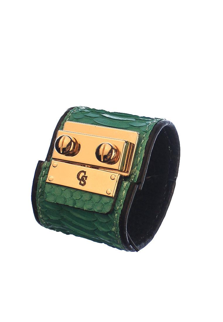 CSHEON Snakeskin Bracelet rh135 green 1