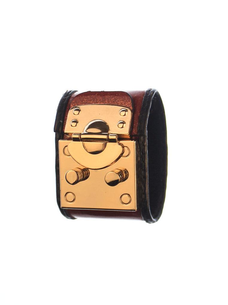 Csheon Leather Red Bracelet rh147 1