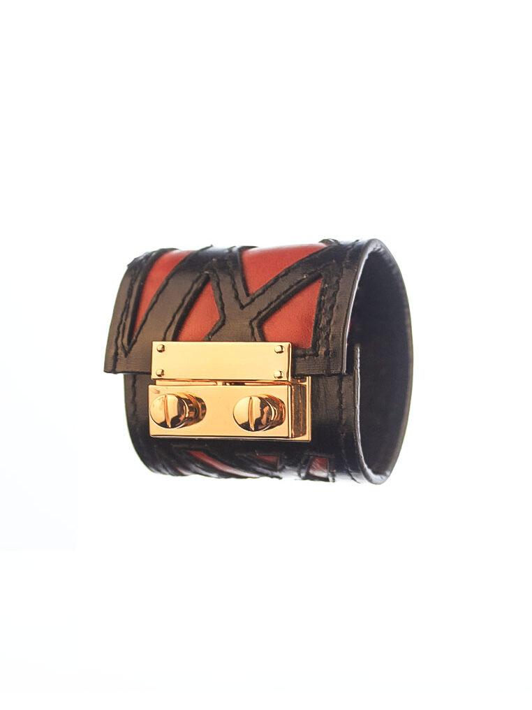 rh195 1 RED CSHEON Cuff Custom Made Personalisation