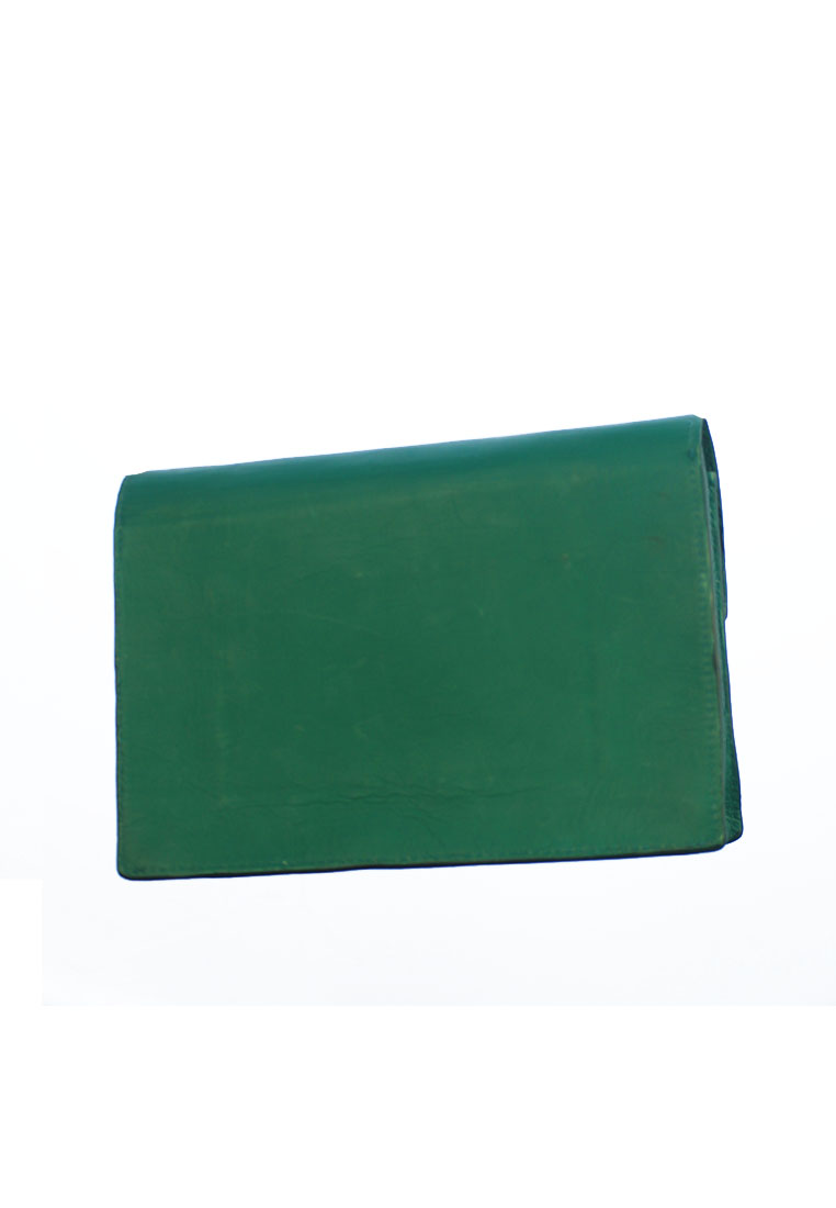 THE ABNER CLUTCH CORAL GREEN