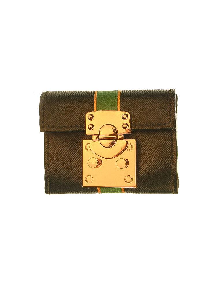 Green Saffiano Small Wallet CSHEON