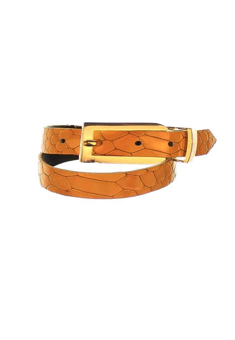 Yellow Snakeskin Bracelet CSHEON