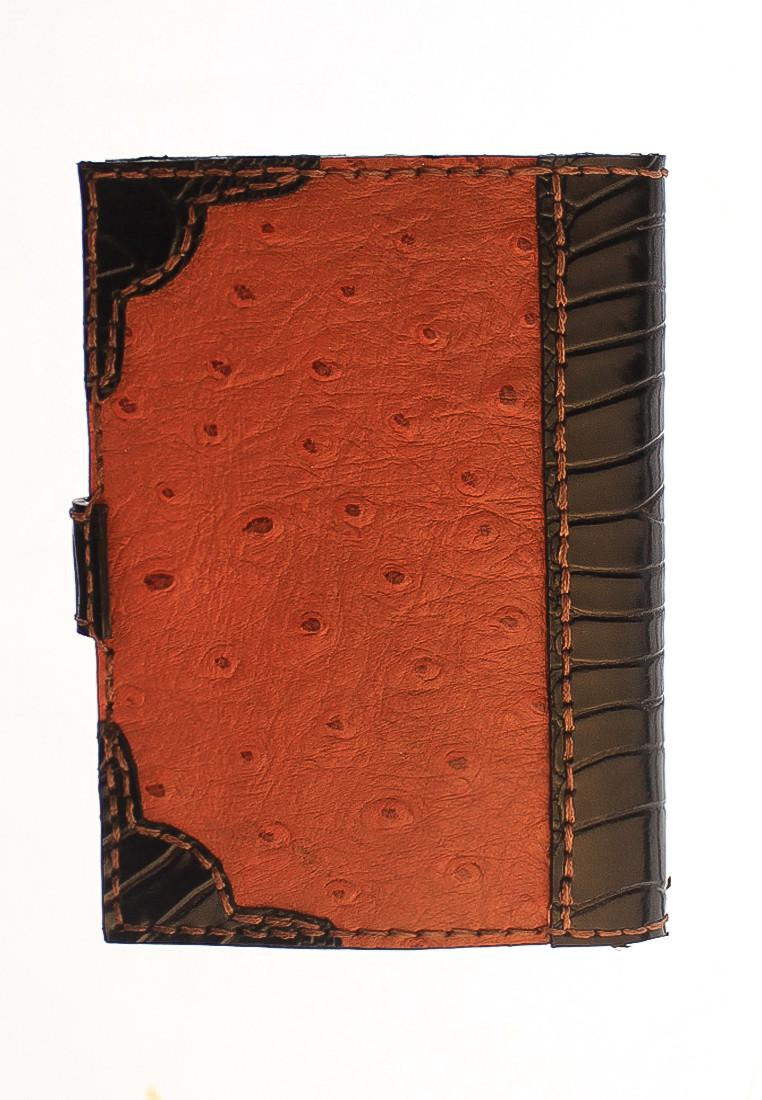 passport holder ostrich skin 2