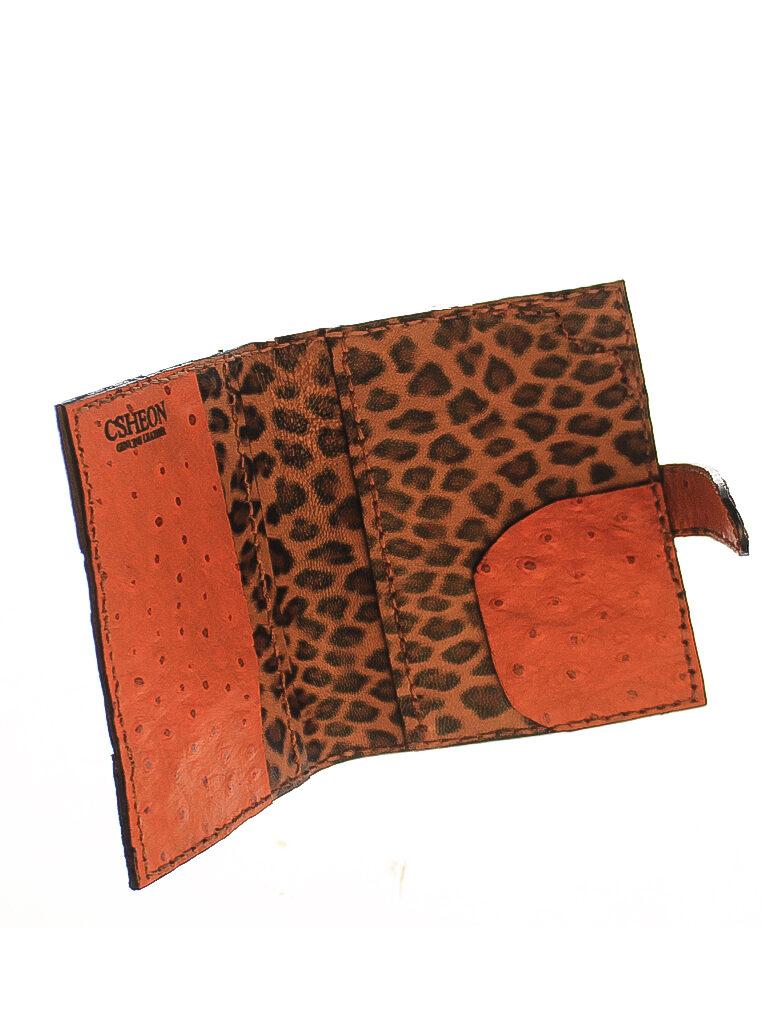 passport holder ostrich skin 3