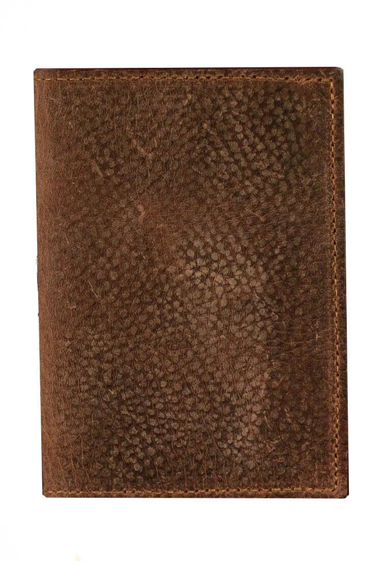 Passport Holder Vintage Pearl Grain Leather
