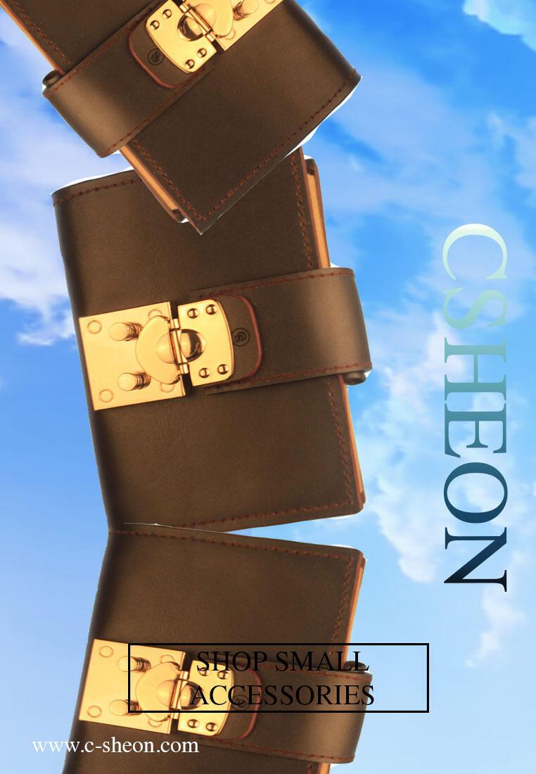 Leather Agenda CSHEON Custom Made Design Brown