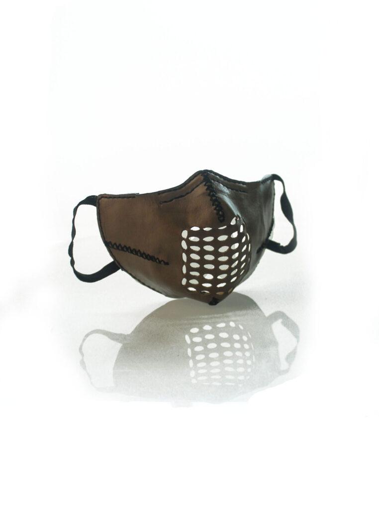 staysafe face mask leather