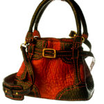 Red Leather bucketbag 1 1