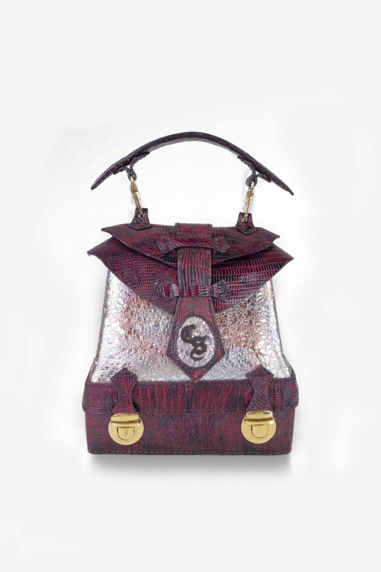 Desiree Doctor Bag Genuine Leather in Black