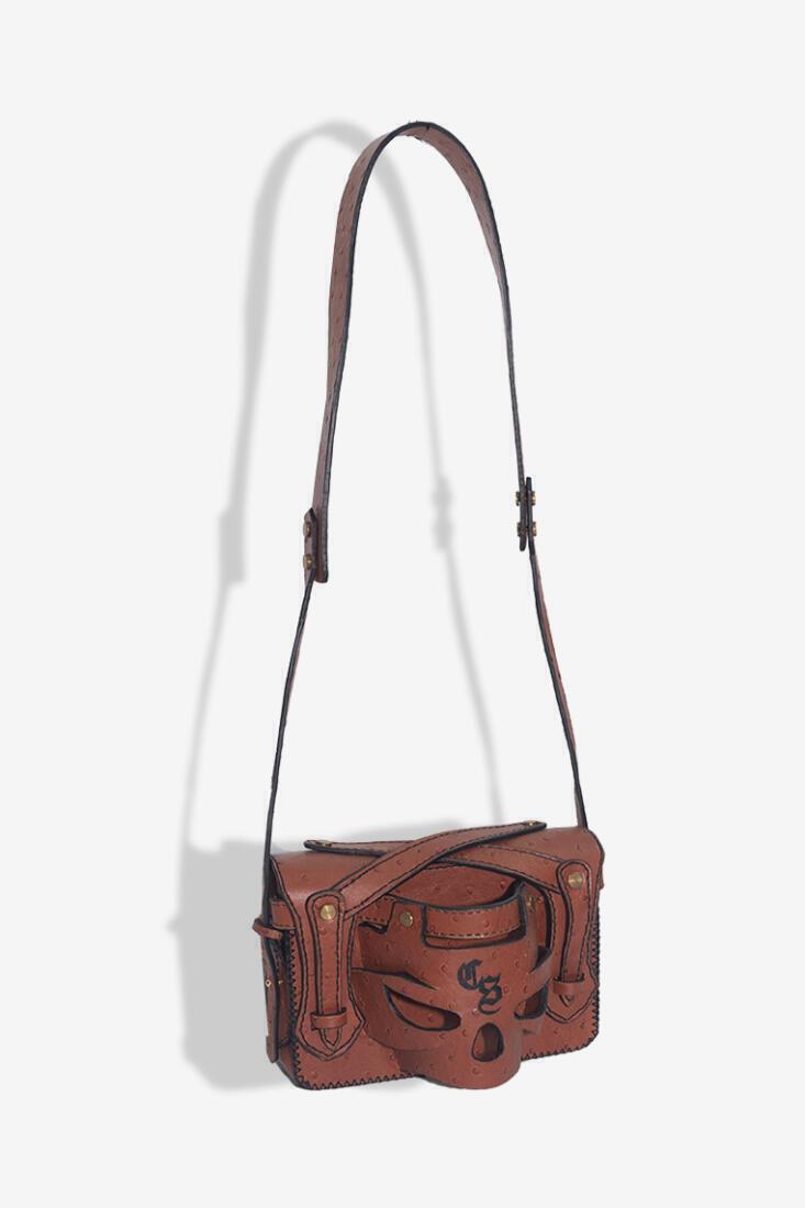 Skull Bag Csheon Online Shopping Leather