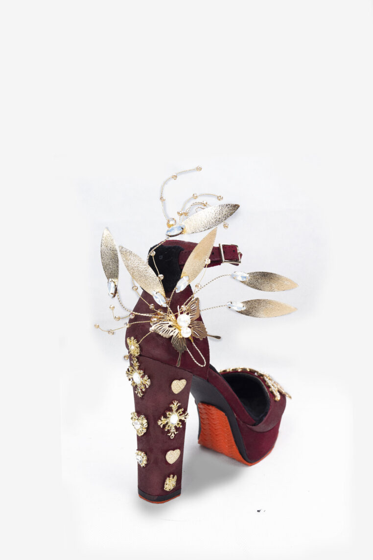BAROQUE LADY LOUISA HEELS