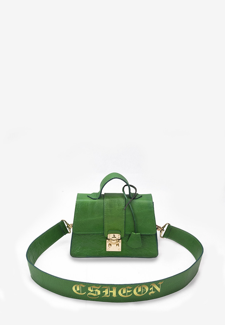 CSHEON Leighton Green Bag