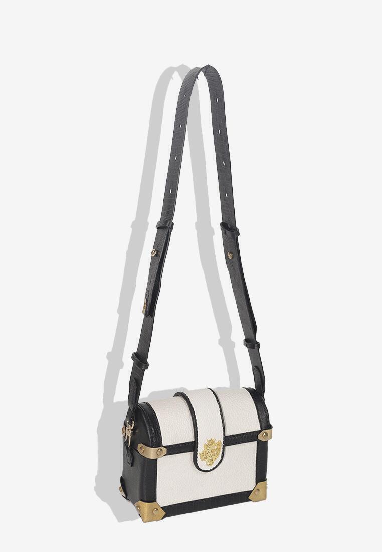 Csheon Bags White Trunk Bag Chest leather calfskin online
